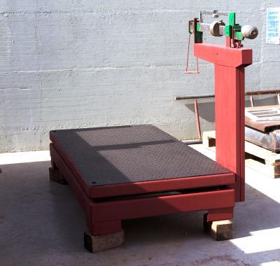 CU-00718 Pesa animali - Bascula meccanica