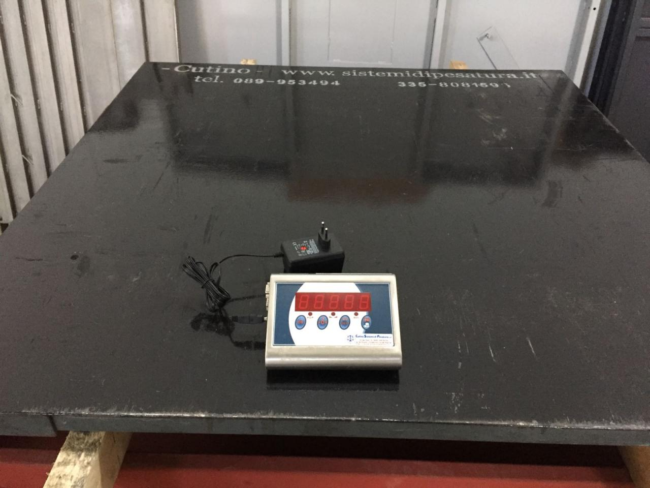 Piattaforma di Pesatura Usata