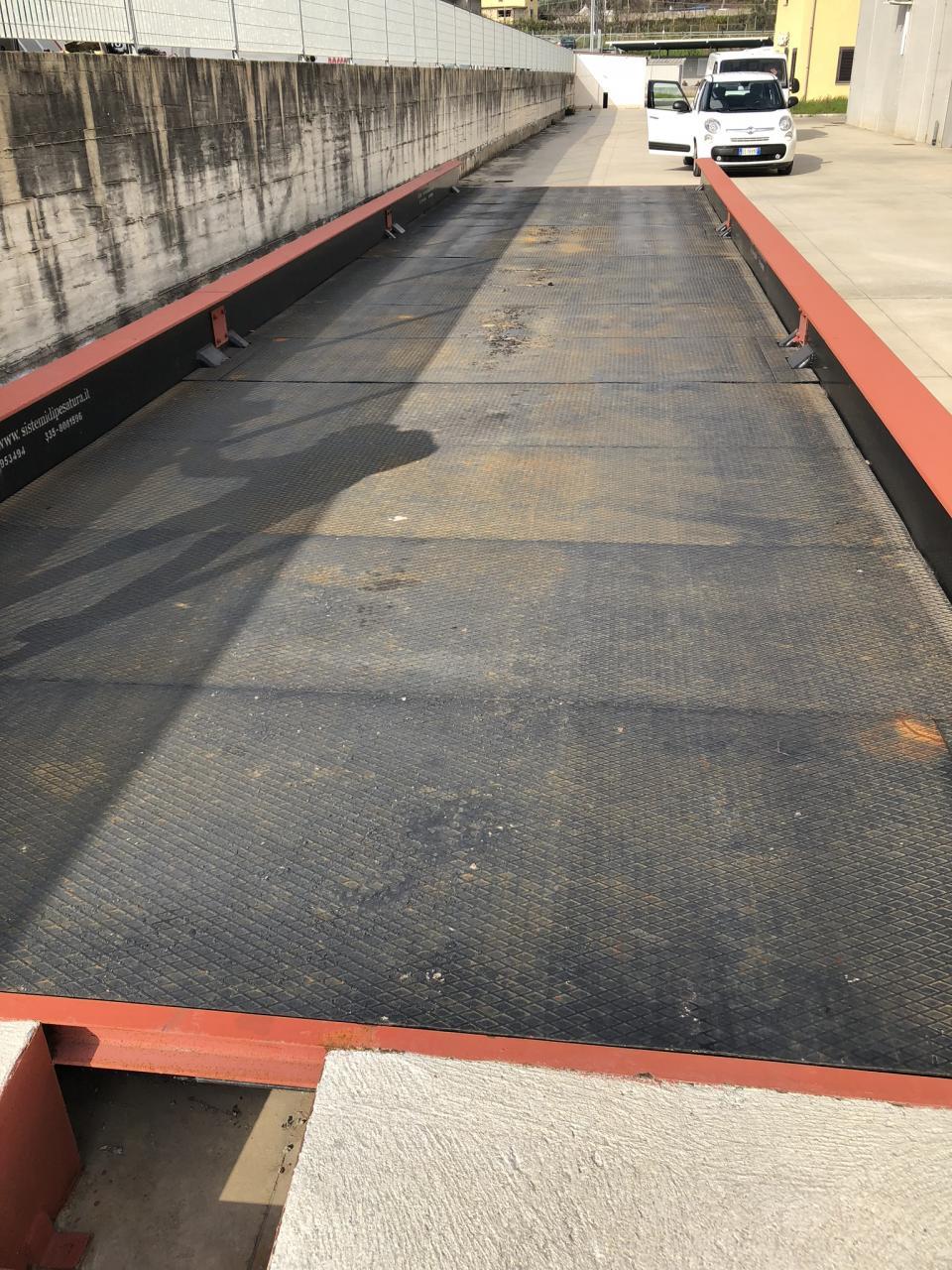 Pesa a Ponte Usata 14 x 3 sopraelevata