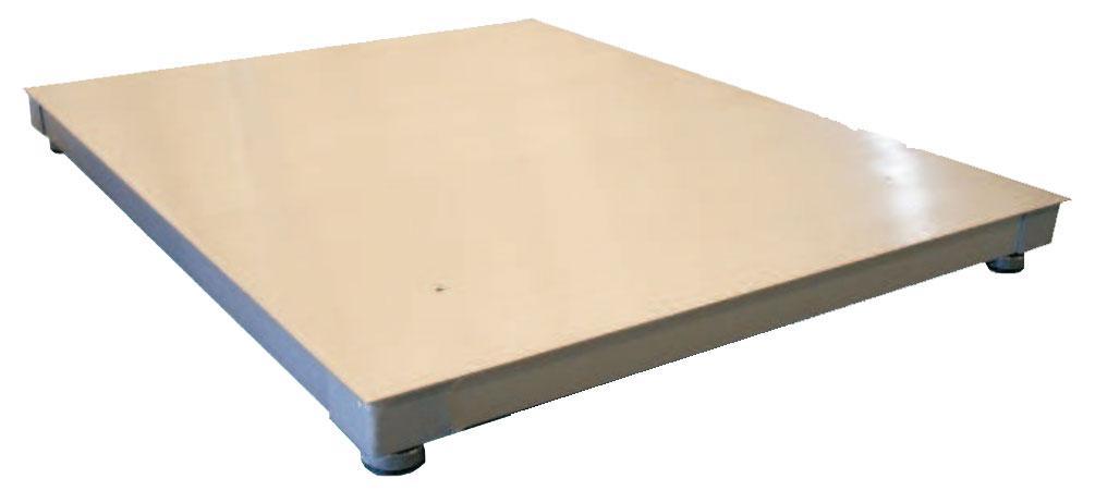 GC-PFA Piattaforma di pesatura Inox a quattro celle di carico