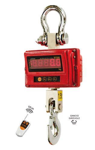 GC-DTEM Dinamometro digitale omologato fino a 7500kg